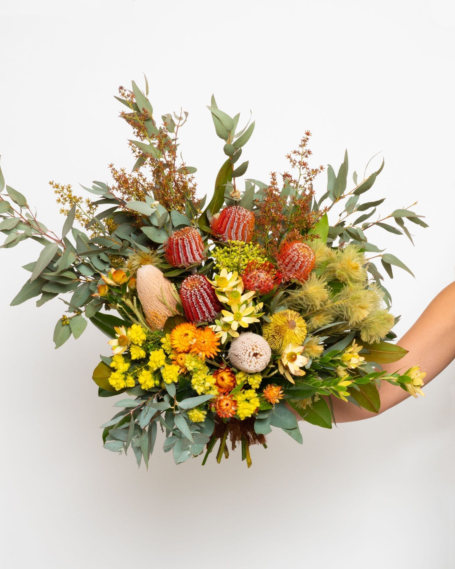 Australian Native And Wildflower Bouquet Art Stems On Lygon