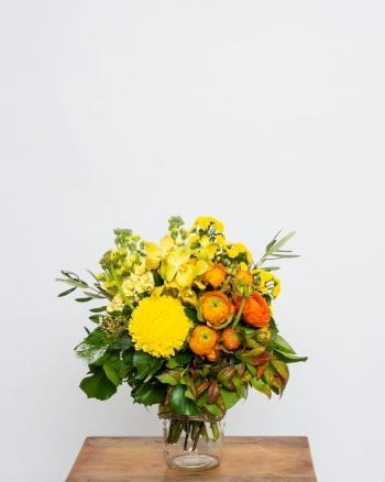 Bright Posy Jar-1