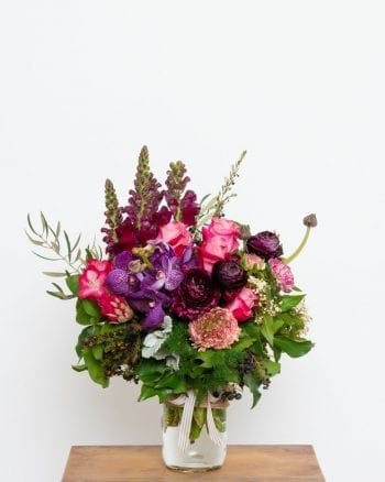 Seasonal Posy Jar-1